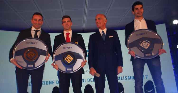 Premiati i Campioni dell'Automobilismo Aci al Monza Eni Circuit