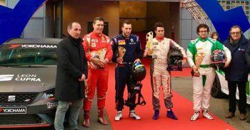 Lucio Peruggini protagonista alla gara Campione dell'anno organizzata da ACI a MONZA
