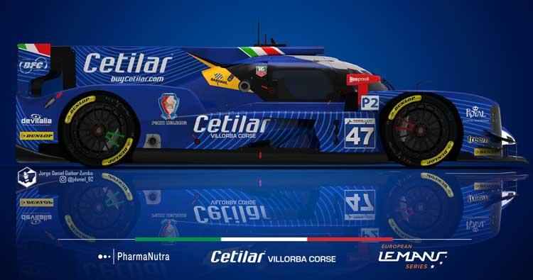 Cetilar Villorba Corse al via della 24 Ore di Le Mans 2018