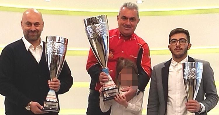 Ignazio Bonavires campione sociale Armanno Corse 2017