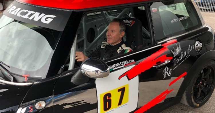 Giovanni Loffredo in CIVM su MINI RS Plus