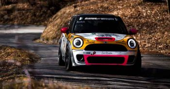 Rachele Somaschini nel Campionato Italiano Rally con Hankook Competition