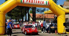 Il Tricolore Salita Autostoriche sulle sponde del Lago di Bolsena