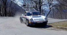 Da Zanche debutta sulla Porsche gruppo B al Rally di Sanremo!