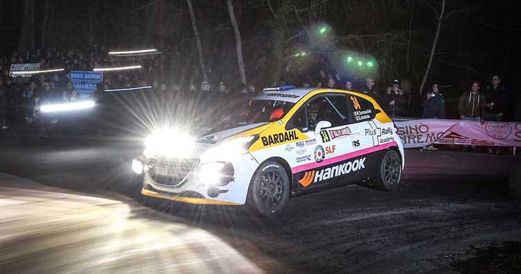 Buona la seconda per Rachele Somaschini nel CIR al Rallye Sanremo
