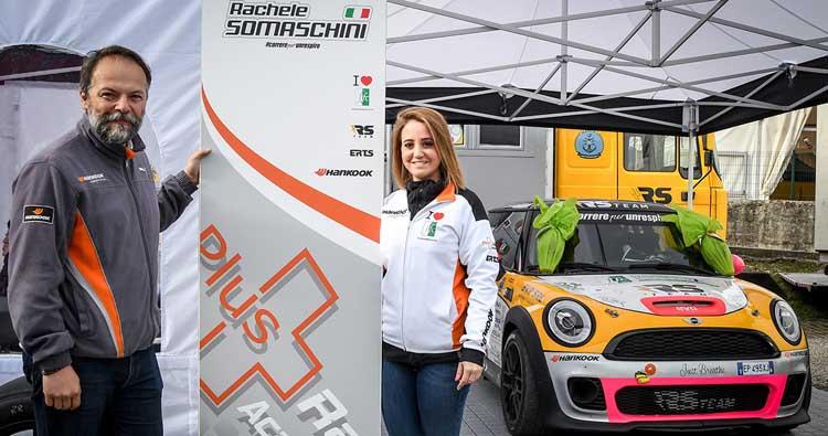 Rachele Somaschini porta #CorrerePerUnRespiro al Rallye Sanremo