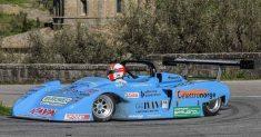 Uberto Bonucci inaugura il Campionato Italiano Velocità Salita Autostoriche
