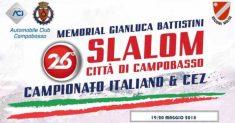 Rinviato il XXVI Slalom Città di Campobasso – Memorial Gianluca Battistini