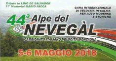 """Agostino Iccolti vince il """"Memorial Mario Facca"""" con il miglior tempo tra le storiche alla 44ª Alpe del Nevegal"""