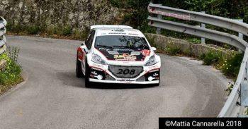 Al Rally dei Nebrodi vittoria di Riolo – Rappa su Peugeot 208 T16