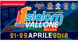 Al 1° Slalom del Vallone ok per il percorso
