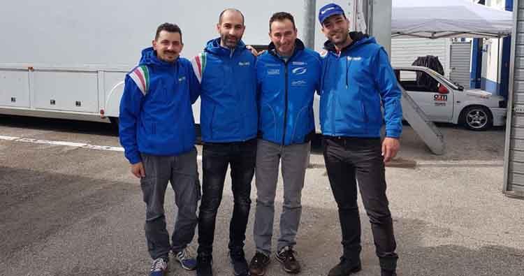 Simone Faggioli e Fabien Bouduban con FasTronik alla Pikes Peak