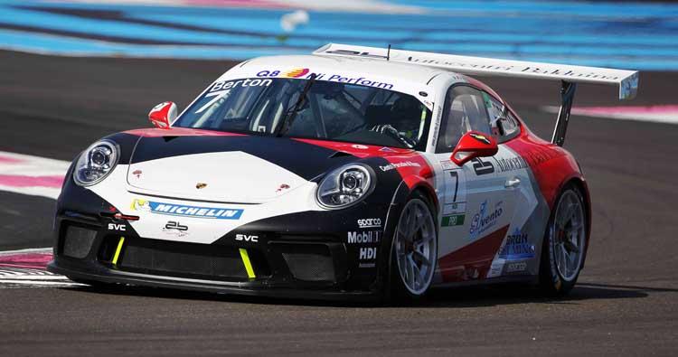AB Racing mostra carattere nella Carrera Cup Italia a Le Castellet