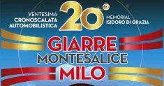 Dal 6 all'8 luglio la Giarre Montesalice Milo celebra il ventennale