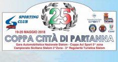 Più di 90 gli iscritti alla 25ª Coppa Città di Partanna