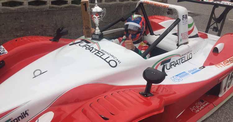 Francesco Turatello vince a Verzegnis