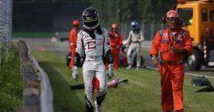 La scorrettezza altrui esclude Fulgenzi dalla gara di Monza