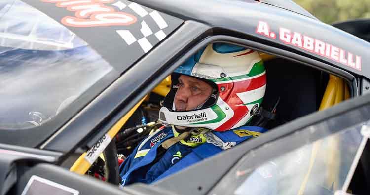 Seconda gara e prima vittoria per Alessandro Gabrielli e la sua 4C