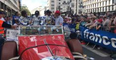 Cetilar Villorba Corse al via del warm up della 24 Ore di Le Mans