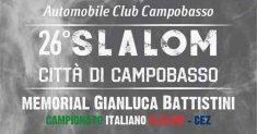 Da domani via al XXVI Slalom Città di Campobasso-Memorial Gianluca Battistini