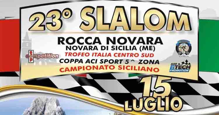 Iscrizioni al via allo Slalom Rocca di Novara del 14 e 15 luglio