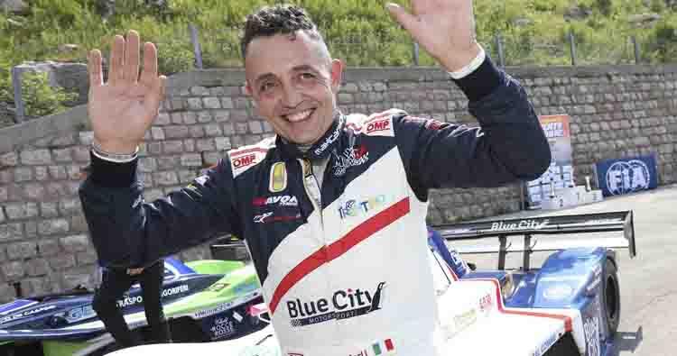 Il Team Blue City Motorsport si presenta con Christian Merli in Slovacchia