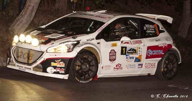 Totò RIolo e Gianfranco Rappa dominano il 1° Himera Rally