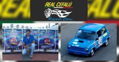 Successo per il porta colori della scuderia Real Cefalù Reparto Corse