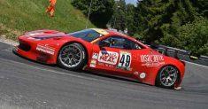 Luca Gaetani sul secondo gradino del podio alla 68ª Trento Bondone