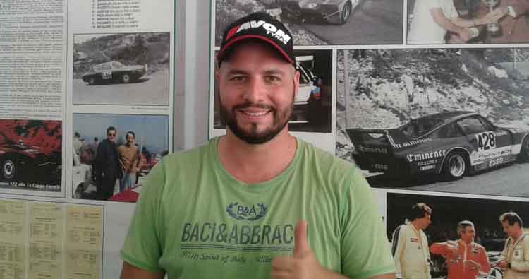 Angelo Marino nel CIVM 2019 con una Peugeot 106 nella Racing Start 1600