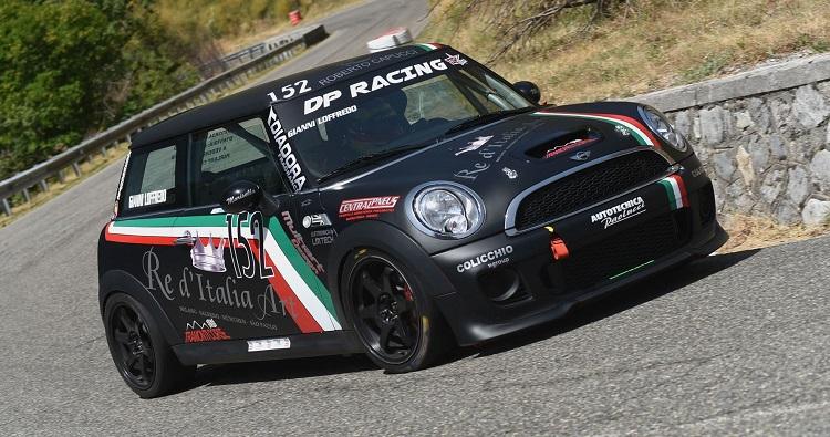 Loffredo è super con Re D'Italia Art alla Morano – Campotenese su Mini Cooper JCW della DP Racing