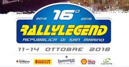 Aprono le iscrizioni al 16° Rallylegend 2018 a calendario dall'11 al 14 ottobre