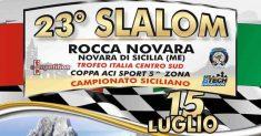 Lo Slalom Rocca di Novara pronto alle verifiche