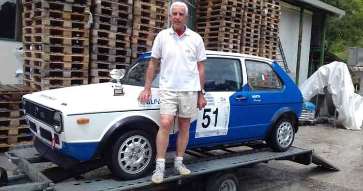 Primo posto di classe per Mario Tacchini nella 31esima Limabetone