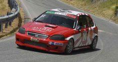 Gabry Driver allo start della 10ª Cellara – Colle D'Ascione