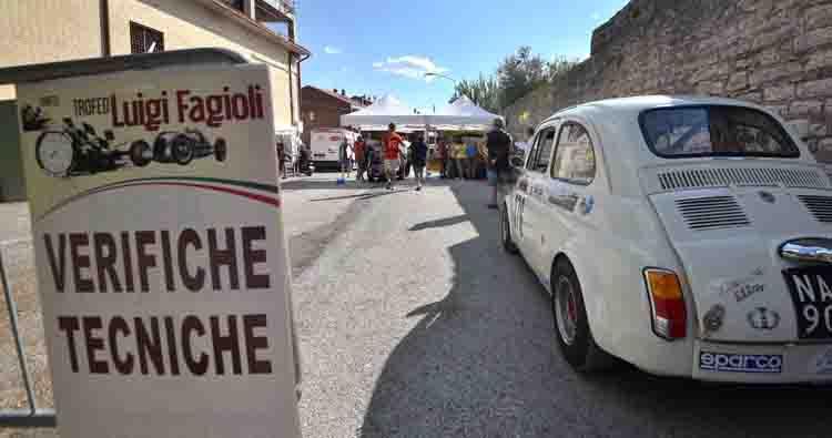 Partito il weekend del 53° Trofeo Luigi Fagioli