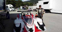 Franco Manzoni è il nono pilota Speed Motor in gara a Pedavena