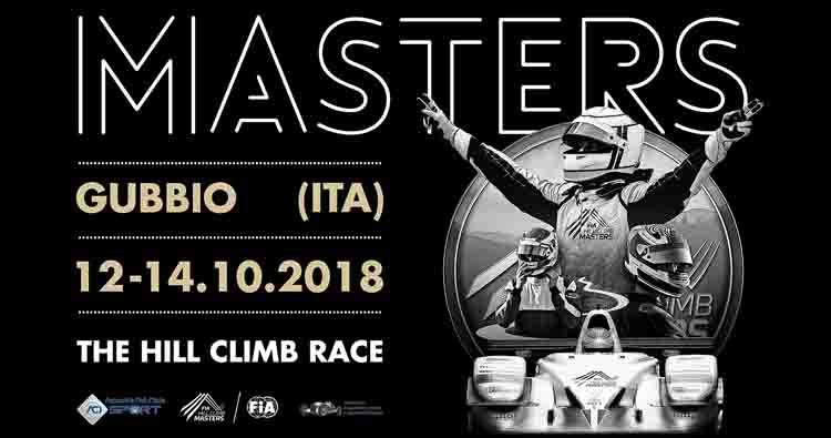 Gubbio apre i suoi scrigni per il FIA Hill Climb Masters