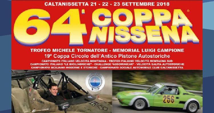 AC Festina lente: alla 64ª Coppa Nissena con Adragna e Giordano