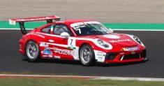 AB Racing performante a domicilio nella Carrera Cup Italia a Vallelunga