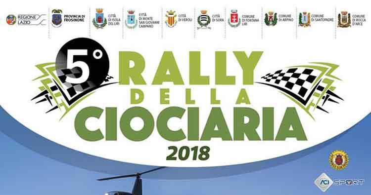 Ultimi dettagli per il varo del 5° Rally della Ciociaria