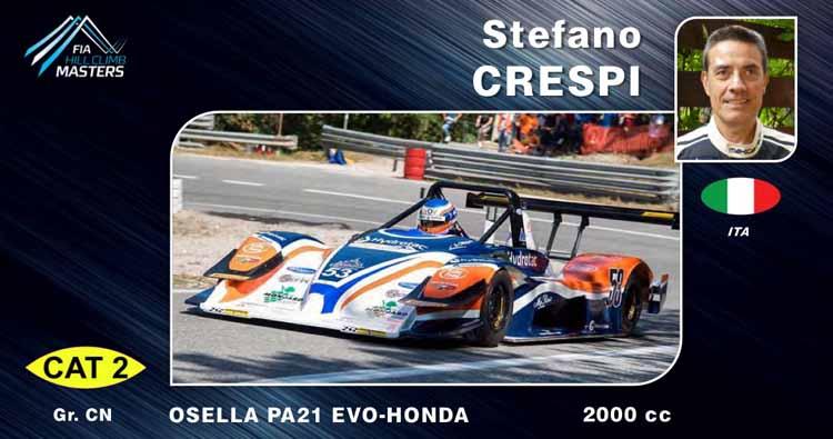 Stefano Crespi presente al Fia Hillclimb Masters a Gubbio