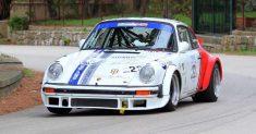 Il cefaludese Angelo Lombardo (Porsche) svetta nella pioggia al Santuario