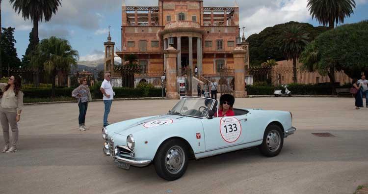 Chiusa l'edizione 2018 della Targa Florio Classica  una sfilata da sogno sulle strade del  mito