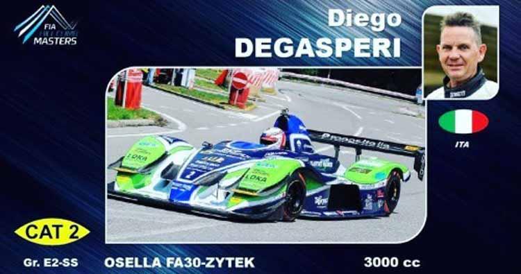 Finale di stagione col botto per Diego Degasperi al FIA Masters di Gubbio