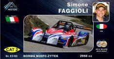 Simone Faggioli rappresenterà l'Italia con la squadra nazionale al FIA MASTERS