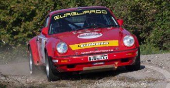 Domenico Guagliardo e Francesco Granata su Porsche 911 SC RS si aggiudicano il 13° Rally  Due Valli Historic
