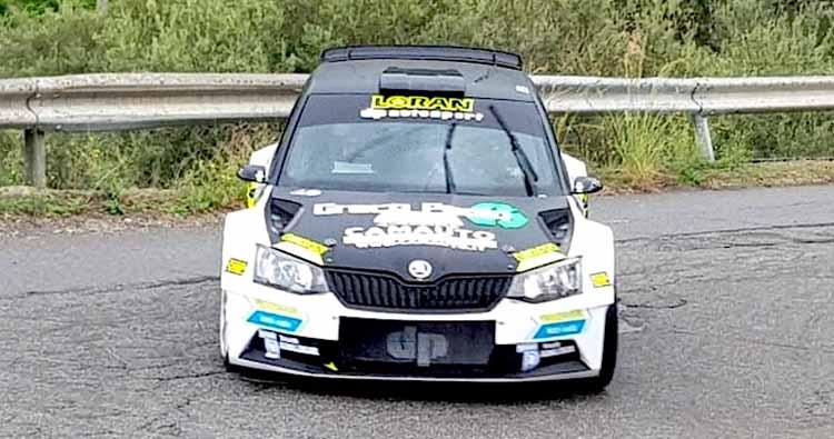 Al quarto Tindari Rally vittoria di Rossetti e Mori su Skoda
