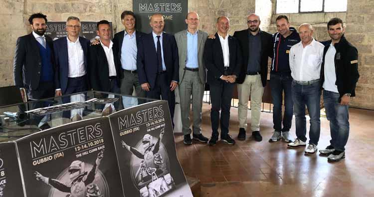 A Gubbio irrompe il FIA Hill Climb Masters dei record