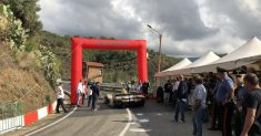 Una lunga prima manche di prove, causa incidenti, alla Luzzi Sambucina